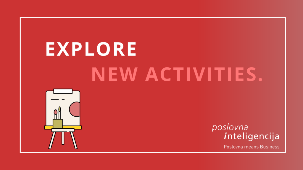 Poslovna inteligencija - Explore new activities