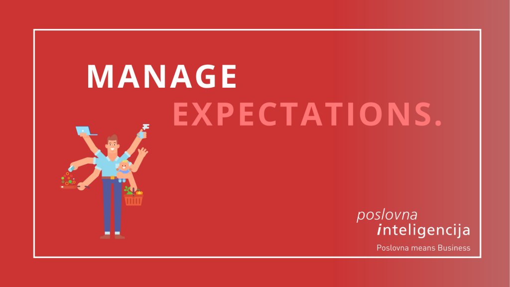 Poslovna inteligencija - manage expectations