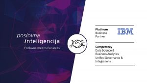 IBM Poslovna inteligencija-Platinum partner