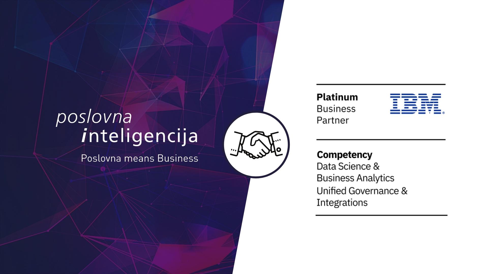 IBM Poslovna inteligencija-Platinum partner
